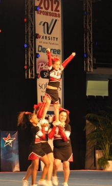 Fremont Flyers RAW Allstar Cheer Gym